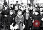 Image of soup kitchen Prague Czechoslovakia, 1919, second 3 stock footage video 65675026335