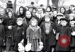 Image of soup kitchen Prague Czechoslovakia, 1919, second 7 stock footage video 65675026335