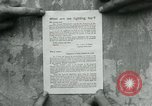 Image of propaganda document France, 1918, second 3 stock footage video 65675026346