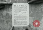 Image of propaganda document France, 1918, second 7 stock footage video 65675026346