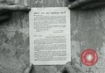 Image of propaganda document France, 1918, second 9 stock footage video 65675026346