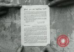 Image of propaganda document France, 1918, second 10 stock footage video 65675026346