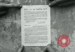 Image of propaganda document France, 1918, second 12 stock footage video 65675026346