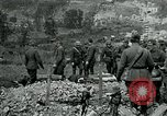 Image of Burial ceremony at American Expeditionary Force Cemetery WWI Cheppy France, 1918, second 2 stock footage video 65675026362