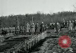 Image of World War 1 American Expeditionary Force Cemetery Bois de Etraye France, 1918, second 2 stock footage video 65675026366