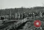 Image of World War 1 American Expeditionary Force Cemetery Bois de Etraye France, 1918, second 3 stock footage video 65675026366