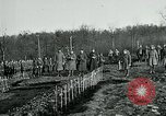 Image of World War 1 American Expeditionary Force Cemetery Bois de Etraye France, 1918, second 4 stock footage video 65675026366
