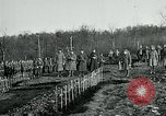 Image of World War 1 American Expeditionary Force Cemetery Bois de Etraye France, 1918, second 5 stock footage video 65675026366