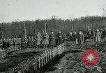 Image of World War 1 American Expeditionary Force Cemetery Bois de Etraye France, 1918, second 6 stock footage video 65675026366