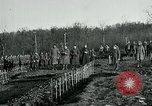 Image of World War 1 American Expeditionary Force Cemetery Bois de Etraye France, 1918, second 7 stock footage video 65675026366
