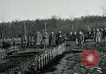 Image of World War 1 American Expeditionary Force Cemetery Bois de Etraye France, 1918, second 8 stock footage video 65675026366
