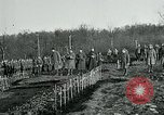 Image of World War 1 American Expeditionary Force Cemetery Bois de Etraye France, 1918, second 10 stock footage video 65675026366