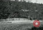 Image of Cemetery at Fleville France, 1918, second 2 stock footage video 65675026368