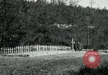 Image of Cemetery at Fleville France, 1918, second 3 stock footage video 65675026368
