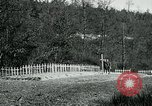 Image of Cemetery at Fleville France, 1918, second 4 stock footage video 65675026368