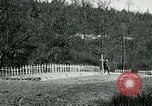 Image of Cemetery at Fleville France, 1918, second 5 stock footage video 65675026368