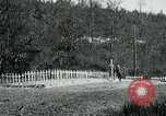 Image of Cemetery at Fleville France, 1918, second 6 stock footage video 65675026368
