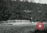 Image of Cemetery at Fleville France, 1918, second 10 stock footage video 65675026368