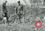 Image of American Expeditionary Force cemetery France, 1918, second 1 stock footage video 65675026369