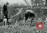 Image of American Expeditionary Force cemetery France, 1918, second 2 stock footage video 65675026369