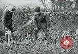 Image of American Expeditionary Force cemetery France, 1918, second 3 stock footage video 65675026369