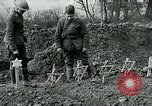 Image of American Expeditionary Force cemetery France, 1918, second 4 stock footage video 65675026369