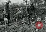 Image of American Expeditionary Force cemetery France, 1918, second 5 stock footage video 65675026369