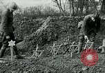 Image of American Expeditionary Force cemetery France, 1918, second 6 stock footage video 65675026369