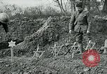 Image of American Expeditionary Force cemetery France, 1918, second 7 stock footage video 65675026369