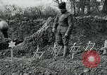 Image of American Expeditionary Force cemetery France, 1918, second 8 stock footage video 65675026369