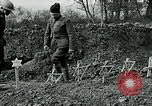 Image of American Expeditionary Force cemetery France, 1918, second 9 stock footage video 65675026369