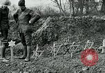 Image of American Expeditionary Force cemetery France, 1918, second 11 stock footage video 65675026369
