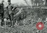 Image of American Expeditionary Force cemetery France, 1918, second 12 stock footage video 65675026369