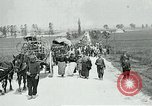 Image of Aisne Operation civilian refugees World War 1 Montmirail France, 1918, second 1 stock footage video 65675026376