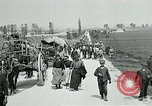 Image of Aisne Operation civilian refugees World War 1 Montmirail France, 1918, second 6 stock footage video 65675026376