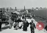 Image of Aisne Operation civilian refugees World War 1 Montmirail France, 1918, second 8 stock footage video 65675026376
