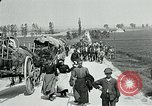 Image of Aisne Operation civilian refugees World War 1 Montmirail France, 1918, second 9 stock footage video 65675026376
