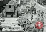 Image of Aisne Operation red cross relief area World War I Montmirail France, 1918, second 4 stock footage video 65675026378