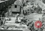 Image of Aisne Operation red cross relief area World War I Montmirail France, 1918, second 12 stock footage video 65675026378