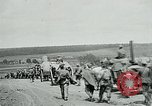 Image of US troops on the move in Aisne Marne Operation WWI Sergy France, 1918, second 2 stock footage video 65675026393