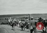 Image of US troops on the move in Aisne Marne Operation WWI Sergy France, 1918, second 4 stock footage video 65675026393