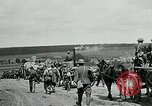 Image of US troops on the move in Aisne Marne Operation WWI Sergy France, 1918, second 6 stock footage video 65675026393