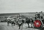 Image of US troops on the move in Aisne Marne Operation WWI Sergy France, 1918, second 7 stock footage video 65675026393