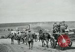 Image of US troops on the move in Aisne Marne Operation WWI Sergy France, 1918, second 8 stock footage video 65675026393