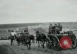 Image of US troops on the move in Aisne Marne Operation WWI Sergy France, 1918, second 9 stock footage video 65675026393