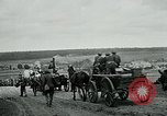 Image of US troops on the move in Aisne Marne Operation WWI Sergy France, 1918, second 10 stock footage video 65675026393