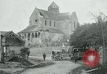 Image of Shell-damaged cathedral La Ferte-sous-Jouarre France, 1918, second 1 stock footage video 65675026408