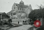 Image of Shell-damaged cathedral La Ferte-sous-Jouarre France, 1918, second 2 stock footage video 65675026408
