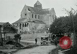 Image of Shell-damaged cathedral La Ferte-sous-Jouarre France, 1918, second 3 stock footage video 65675026408