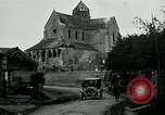 Image of Shell-damaged cathedral La Ferte-sous-Jouarre France, 1918, second 4 stock footage video 65675026408